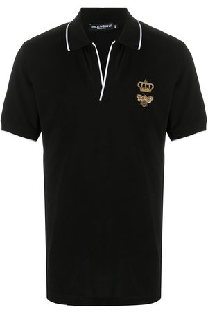 Dolce & Gabbana Bee crown polo shirt