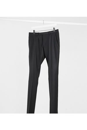 Twisted Tailor TALL tuxedo trousers in black