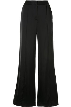Victoria Victoria Beckham Satin wide leg trousers