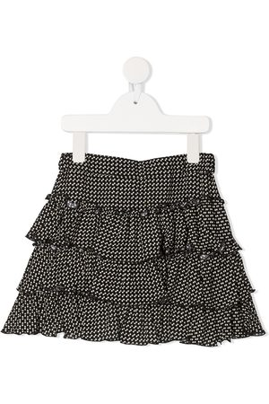 PHILOSOPHY DI LORENZO SERAFINI Polka dot ruffled skirt