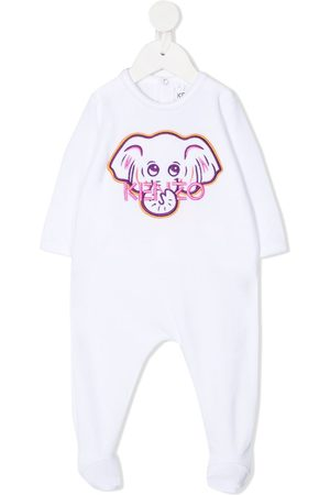 Kenzo Elephant embroidered babygrow