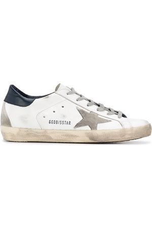 Golden Goose Mujer Tenis - Superstar distressed-finish sneakers