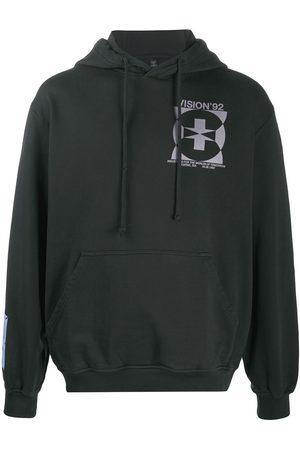 McQ Logo print cotton hoodie