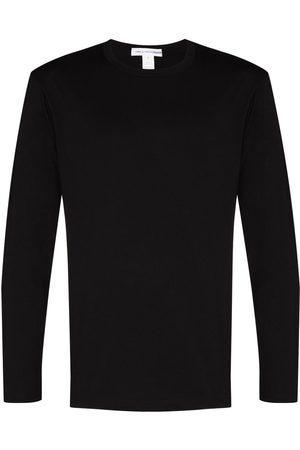 Comme des Garçons Long sleeve cotton logo T-shirt