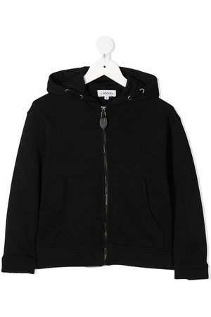 Lanvin Bomber - Logo hooded jacket