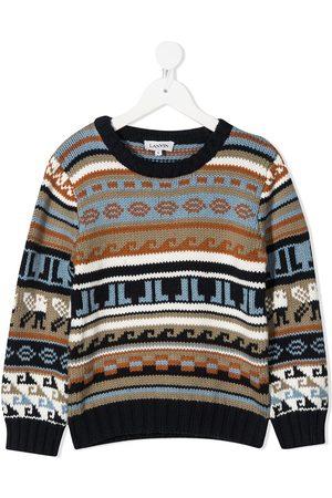Lanvin Suéteres cerrados - Fairisle knit jumper