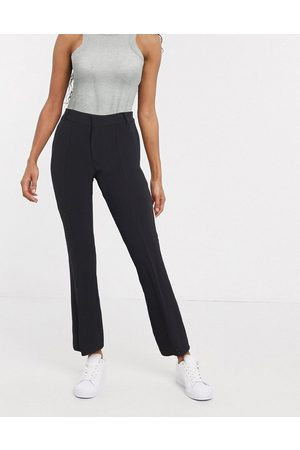 In wear InWear Zayna split front trousers in black