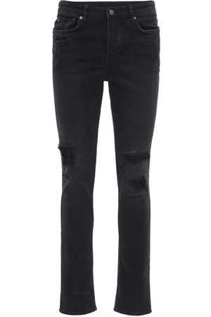 "KSUBI Jeans Slim Fit ""boneyard"" De Denim De Algodón 9cm"