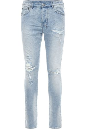 KSUBI Jeans Slim Fit De Denim De Algodón Stretch