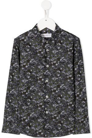 Paolo Pecora Camisa con motivo floral