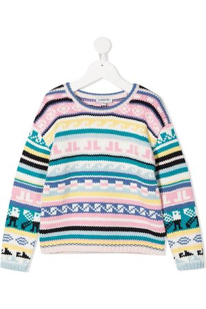 Lanvin Striped pattern knit jumper