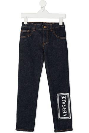 VERSACE Jeans - Vaqueros slim con logo