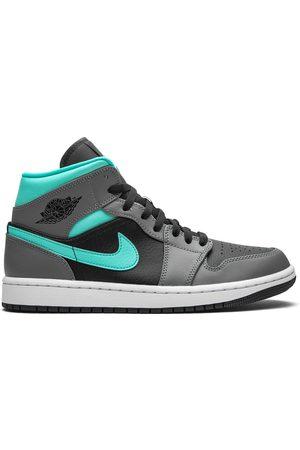 "Jordan Air 1 Mid ""Grey/Aqua"" sneakers"