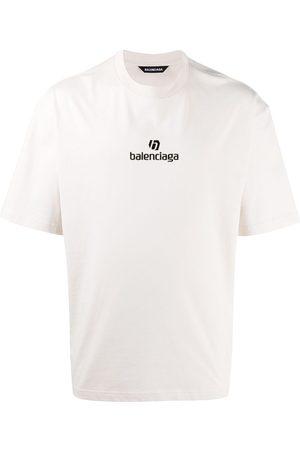 Balenciaga Hombre Playeras - Playera Sponsor con logo bordado