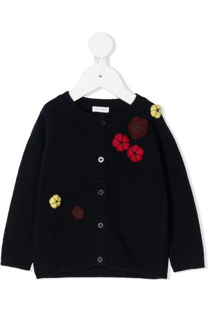 Il gufo Cárdigans - Embroidered flower cardigan