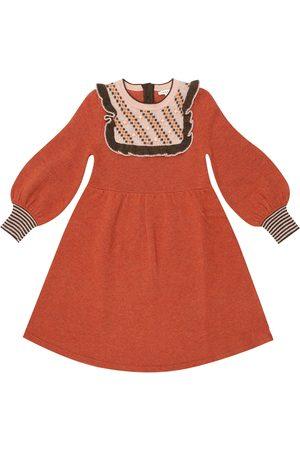 Caramel Niña Cortos - Nightingale merino wool dress