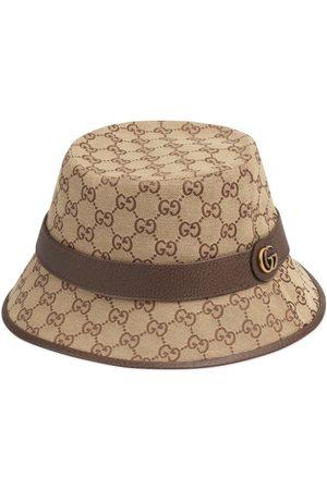 Gucci Sombrero fedora con motivo GG