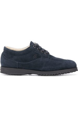 Hogan Logo embroidered derby shoes