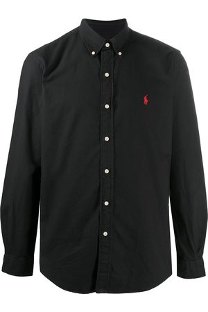 Polo Ralph Lauren Camisa lisa manga larga