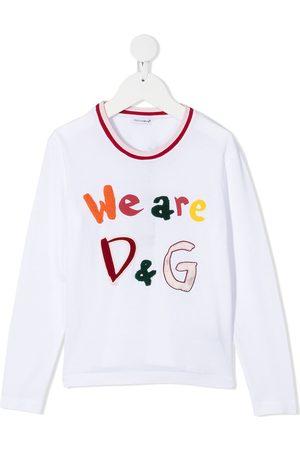 Dolce & Gabbana Kids Niña Playeras - Playera We Are D&G