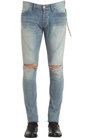 "SEIGEKI Jeans Skinny De Denim ""sky Blue Crash"" 16cm"