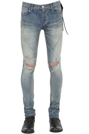 SEIGEKI Jeans Skinny De Denim Lavados 15cm