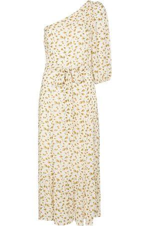 Reformation Freeport floral one shoulder midi dress