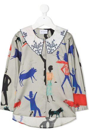 Wolf & Rita Camisa con estampado gráfico