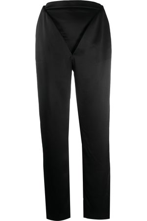 Y / PROJECT V-front trousers