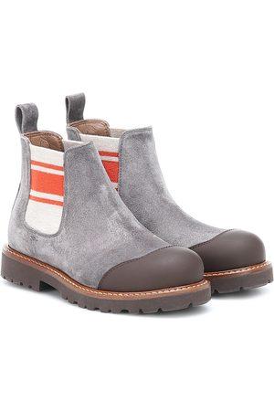 Brunello Cucinelli Suede Chelsea boots
