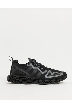adidas ZX 2K 4D trainers in triple black