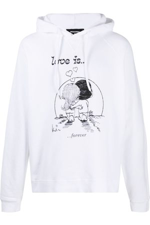 Dsquared2 Love Is Forever printed hoodie