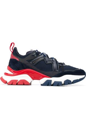 Moncler Panelled lace-up sneakers