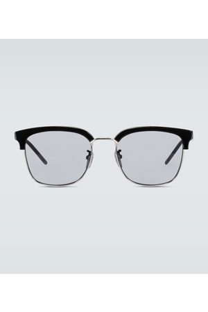 Gucci Square-framed acetate glasses