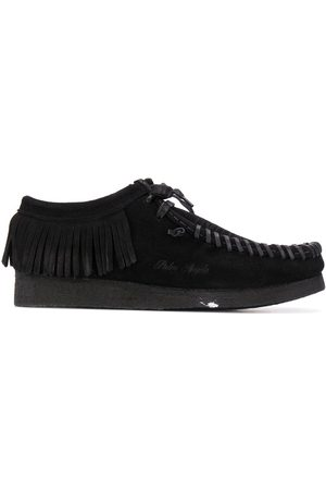 Palm Angels Hombre Zapatos casuales - Fringed lace-up shoes