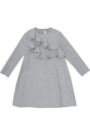 Il gufo Ruffle-trimmed dress