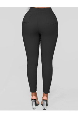 YOINS Casual High Waisted Bodycon Pants