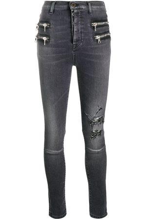 Unravel Project Jeans con efecto envejecido