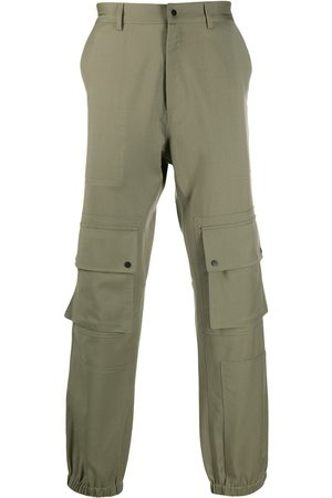 QASIMI Pantalones tipo cargo con dobladillo elástico