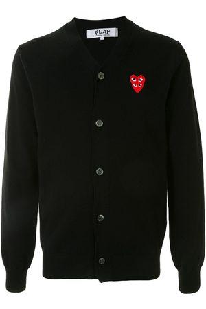 Comme des Garçons Logo-embellished cardigan