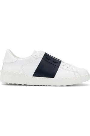 VALENTINO GARAVANI Colour-block panel logo sneakers