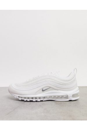 Nike Air Max 97 trainers in triple white