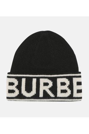 Burberry Logo cashmere beanie