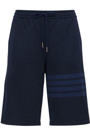 Thom Browne Pantalones Cortos Deportivos De Algodón