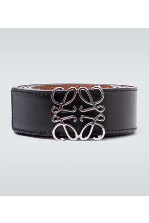 Loewe Hombre Cinturones - Anagram reversible leather belt