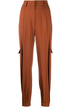 Msgm Fitted cuffs tailored trousers