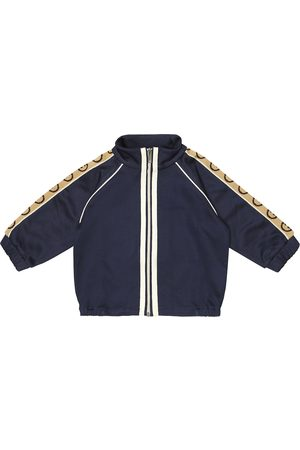 Gucci Baby GG cotton-blend track jacket