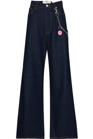 Natasha Zinko Jeans anchos con tiro alto