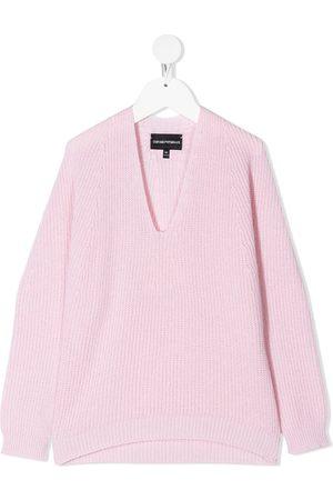 Emporio Armani Suéter con cuello en V
