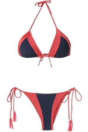 Brigitte Bikini con diseño colour block
